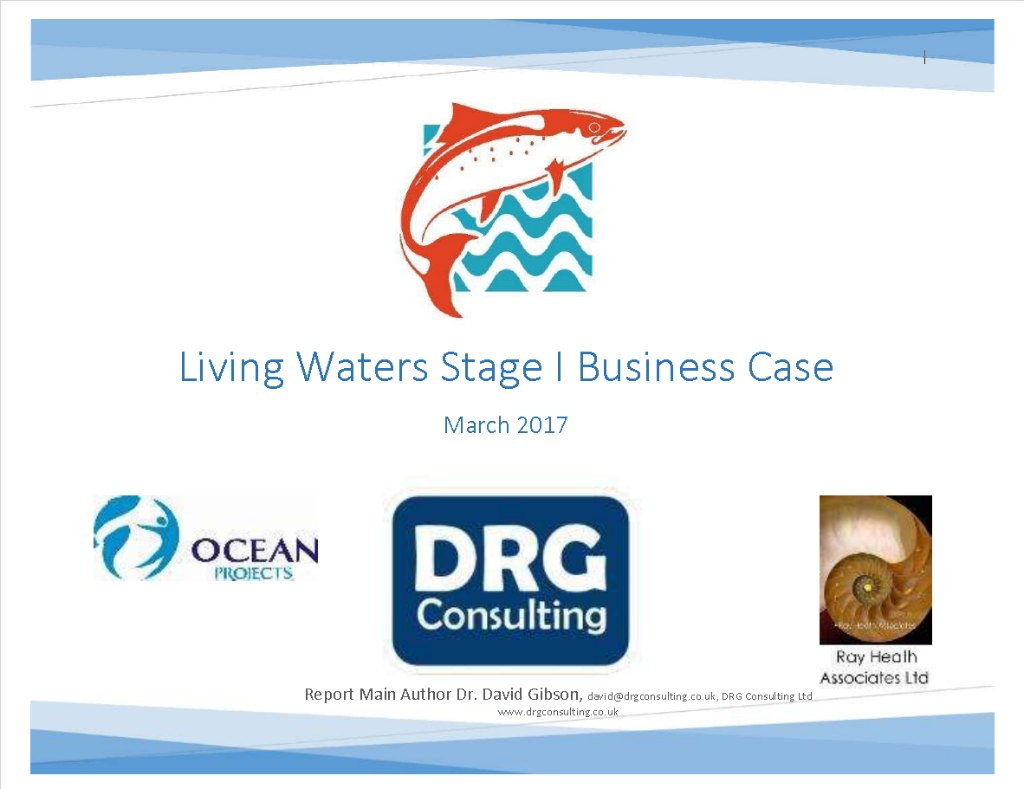 DRG Consulting Ltd Living Waters Feasibility Study